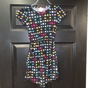 Girls Lularoe Mae Dress size 6. New without tags